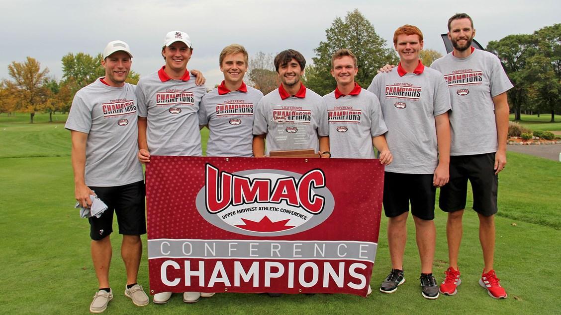 Vikings capture first UMAC men's golf title since 2013