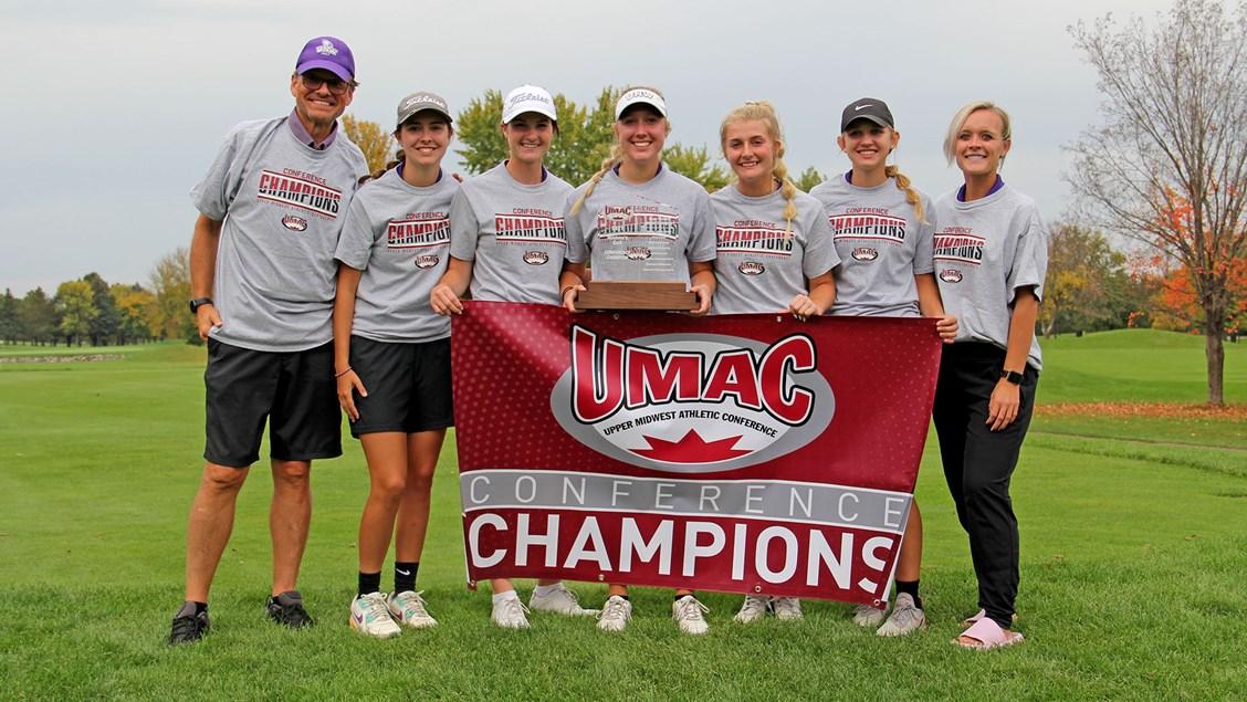 Northwestern wins wire-to-wire UMAC Women's Golf Championship by one stroke
